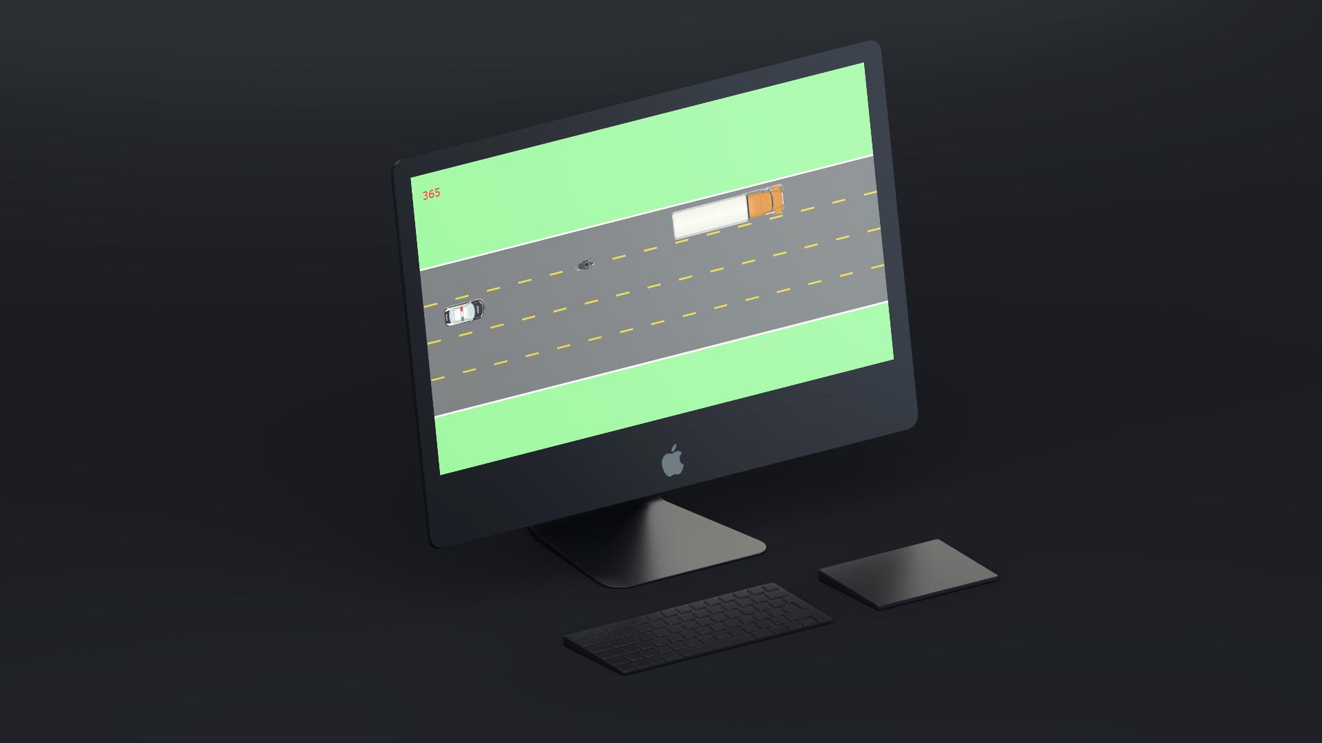 LaneSplitter JavaScript Game